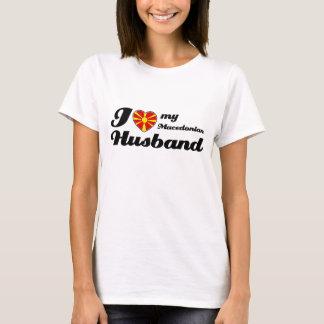 I love my Macedonian Husband T-Shirt