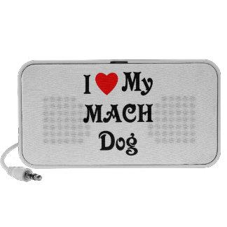 I Love My MACH Dog iPod Speakers
