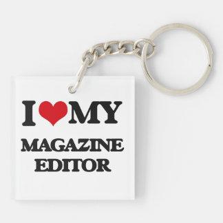 I love my Magazine Editor Keychain