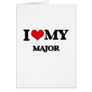 I love my Major Card