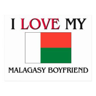 I Love My Malagasy Boyfriend Post Cards