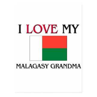 I Love My Malagasy Grandma Postcards
