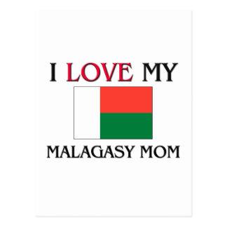 I Love My Malagasy Mom Postcard