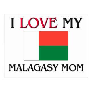 I Love My Malagasy Mom Postcards