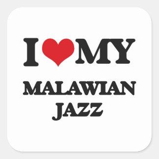 I Love My MALAWIAN JAZZ Sticker