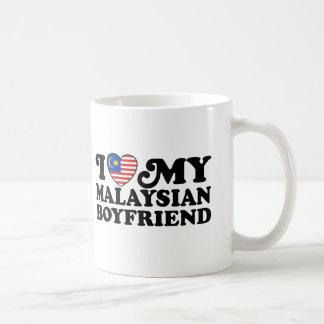 I love My Malaysian Boyfriend Basic White Mug