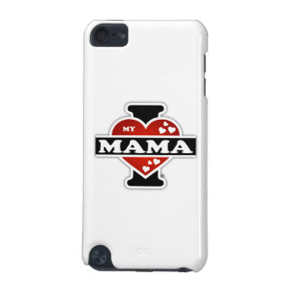 I Love My Mama Heartbeats iPod Touch 5G Case