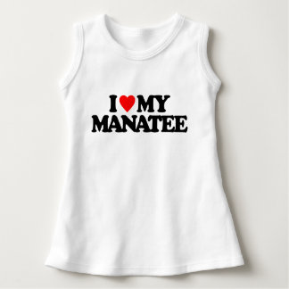I LOVE MY MANATEE DRESS