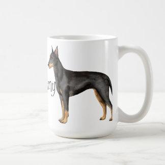 I Love my Manchester Terrier Basic White Mug