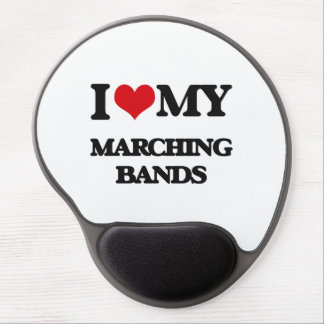 I Love My MARCHING BANDS Gel Mousepad