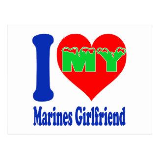 I love my Marines Girlfriend. Post Card