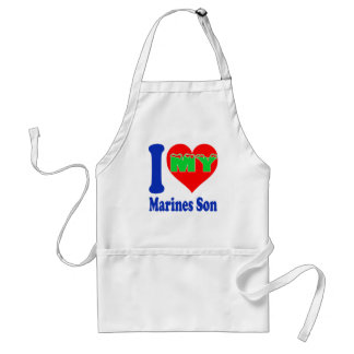 I love my Marines Son. Aprons