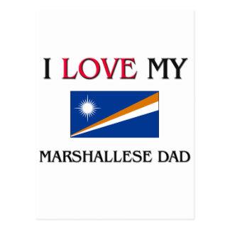 I Love My Marshallese Dad Postcards