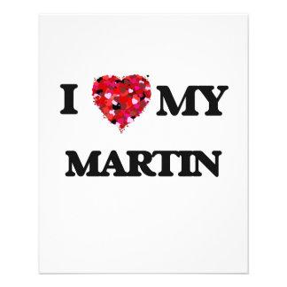 I love my Martin 11.5 Cm X 14 Cm Flyer