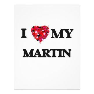 I love my Martin 21.5 Cm X 28 Cm Flyer