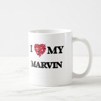 I love my Marvin Basic White Mug