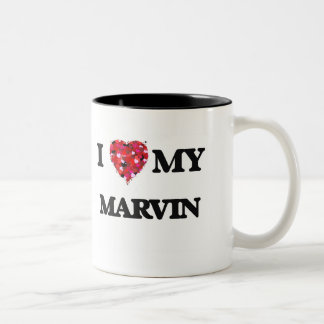 I love my Marvin Two-Tone Mug