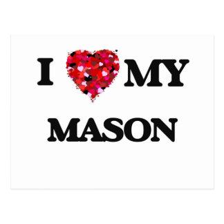 I love my Mason Postcard