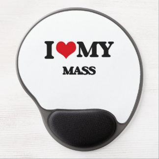 I Love My MASS Gel Mouse Mats
