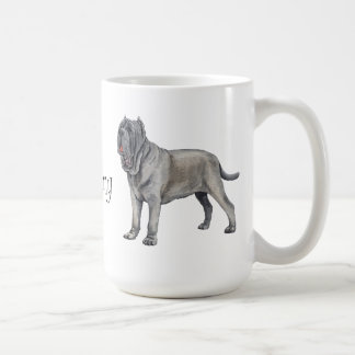 I Love my Mastino Basic White Mug