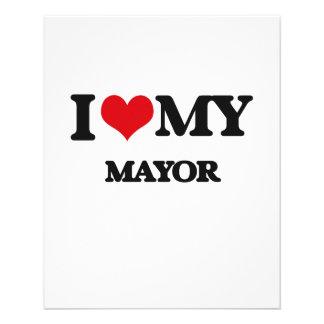 I love my Mayor Personalized Flyer