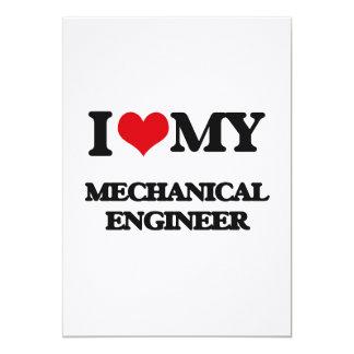 I love my Mechanical Engineer Custom Invitations