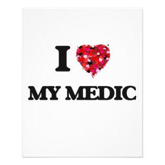 I Love My Medic 11.5 Cm X 14 Cm Flyer