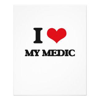 I Love My Medic Full Color Flyer