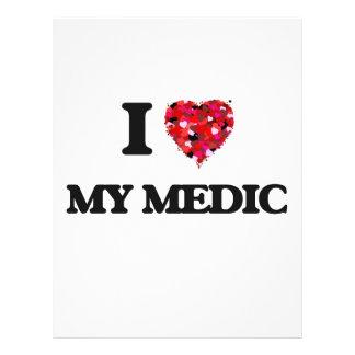 I Love My Medic 21.5 Cm X 28 Cm Flyer