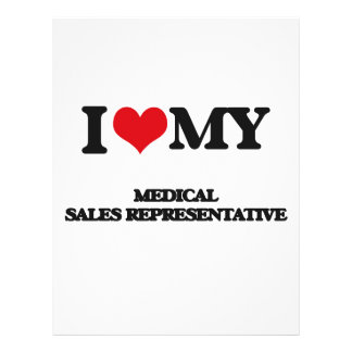 I love my Medical Sales Representative 21.5 Cm X 28 Cm Flyer