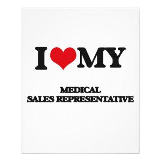 I love my Medical Sales Representative Flyer Design