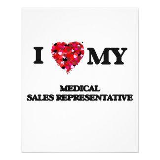 I love my Medical Sales Representative 11.5 Cm X 14 Cm Flyer