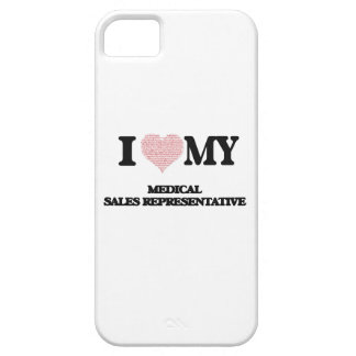 I love my Medical Sales Representative (Heart Made iPhone 5 Cover