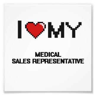 I love my Medical Sales Representative Photo Print