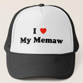 I Love My Memaw Hat