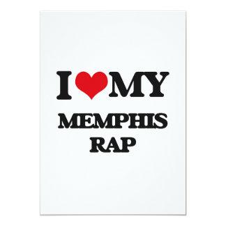 I Love My MEMPHIS RAP Announcement Card