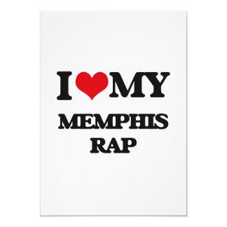 I Love My MEMPHIS RAP Announcements