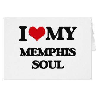 I Love My MEMPHIS SOUL Card