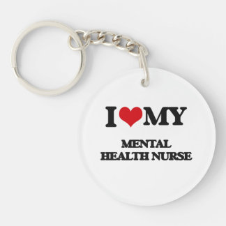 I love my Mental Health Nurse Keychain