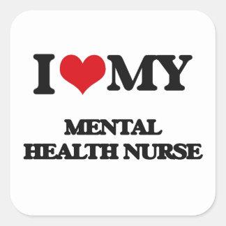 I love my Mental Health Nurse Sticker