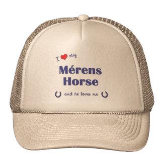 I Love My Merens Horse (Male Horse) Trucker Hats