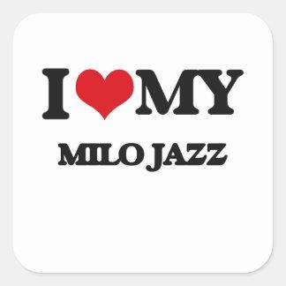 I Love My MILO JAZZ Sticker