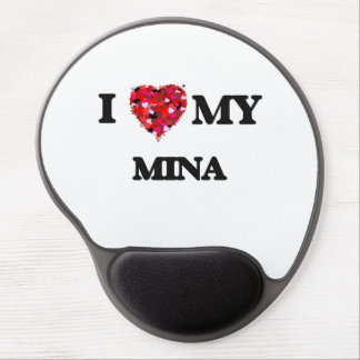I love my Mina Gel Mouse Pad