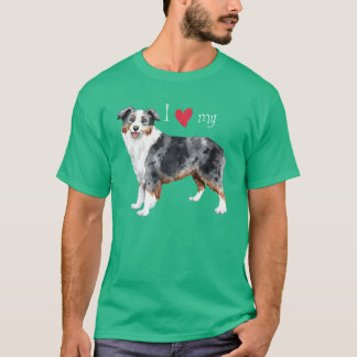 I Love my Mini American Shepherd T-Shirt