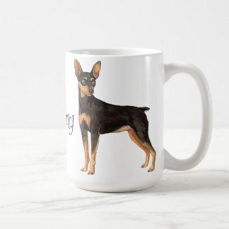 I Love my Miniature Pinscher Coffee Mugs