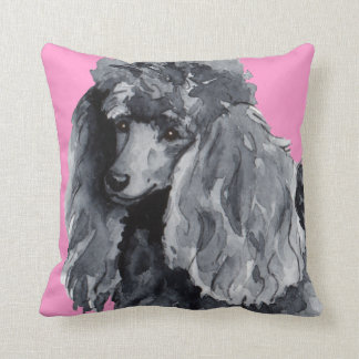 I Love my Miniature Poodle Cushion