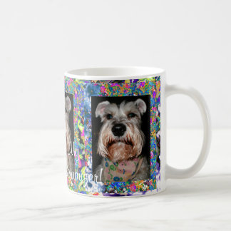 I Love My Miniature Schnauzer! Coffee Mugs