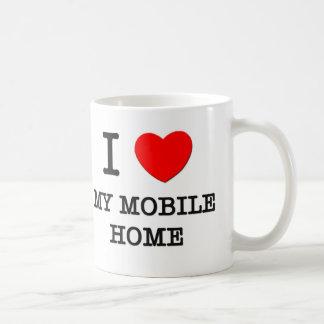 I Love My Mobile Home Coffee Mug