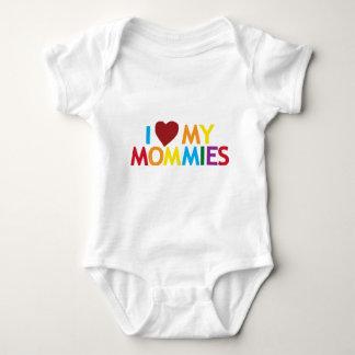 I love my Mommies Baby Bodysuit