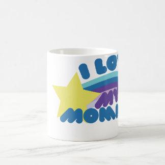 I Love my Mommies Basic White Mug